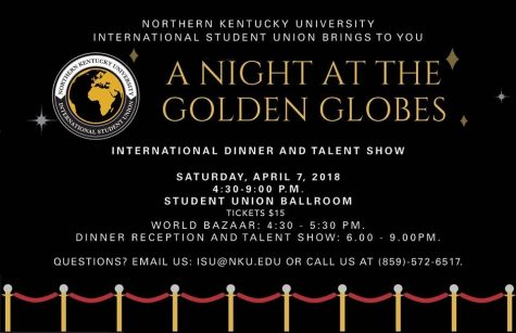 International Student Union dinner rolls out the red carpet