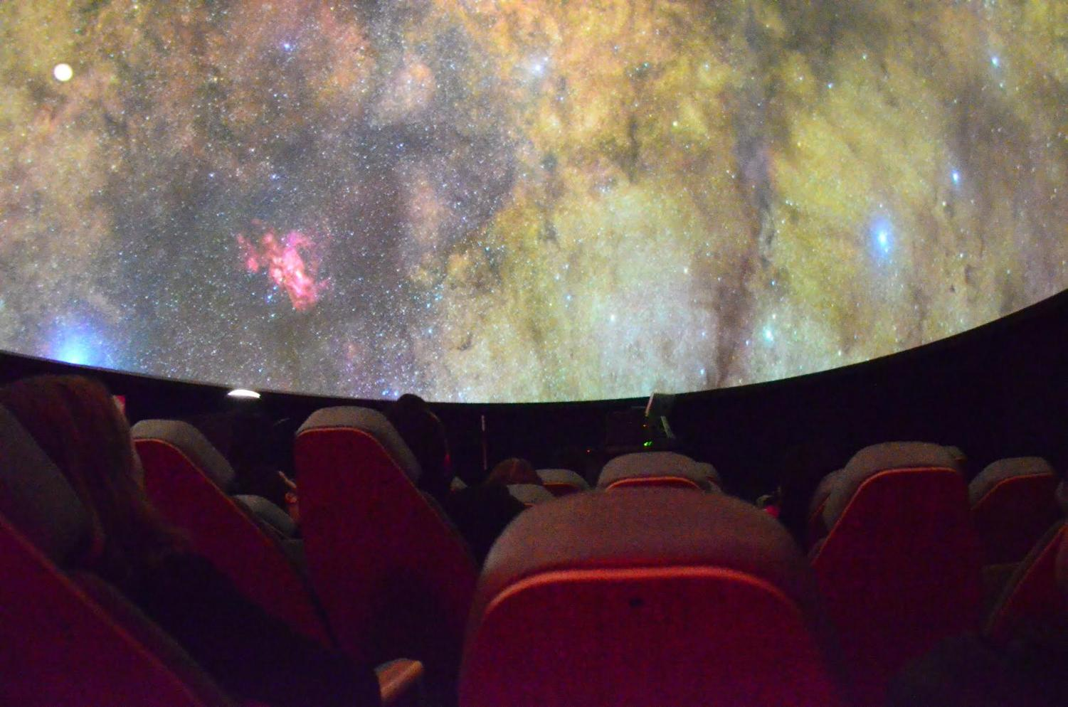 Haile Planetarium hosts free Friday night shows through the month of June.