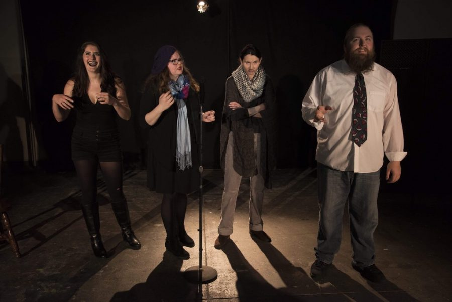 Bad Poetry Night skewers the awkward but  familiar characters spotted at open mics everywhere.