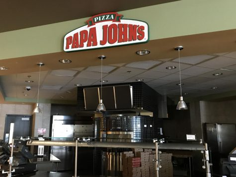 Papa John's located in Student Union. In July, NKU announced it would part ways with the chain, which was replaced with Chartwell's Best Pizza.