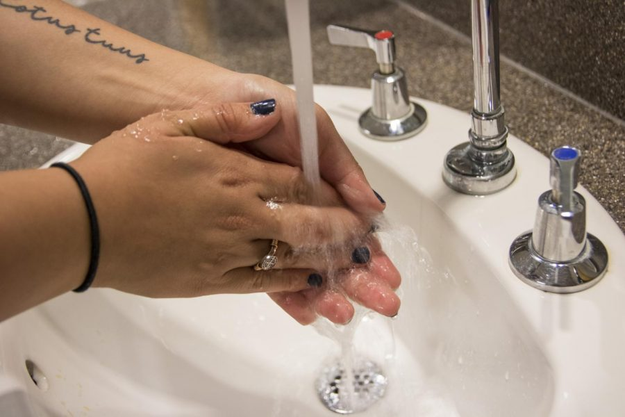 Washing+your+hands+is+a+way+to+prevent+the+spread+of+infections.+