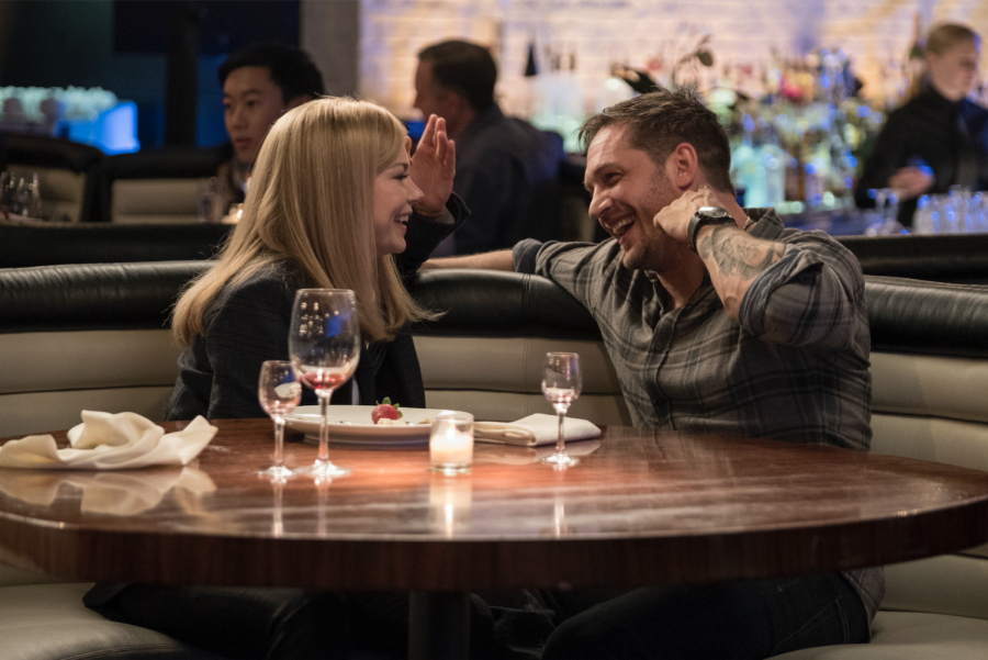 Michelle Williams and Tom Hardy in