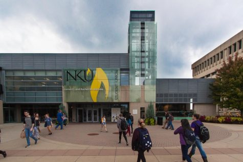 Half of NKU Native American students leave