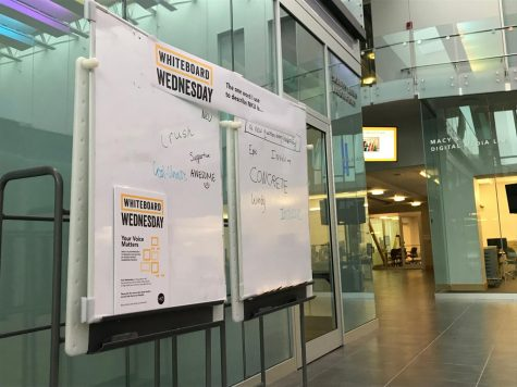 What's with the whiteboards? NKU looks for feedback