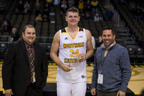 McDonald named Horizon League Co-Player of the Week