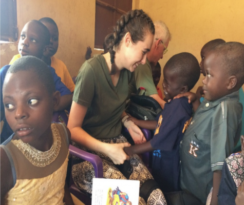 Student harnesses love of teaching in Uganda