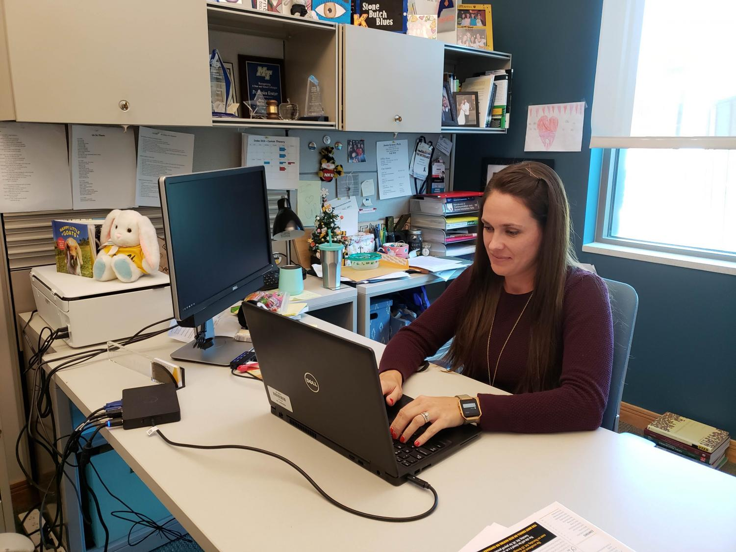 Communication professor Dr. Jessica Kratzer specializes in sexual communication