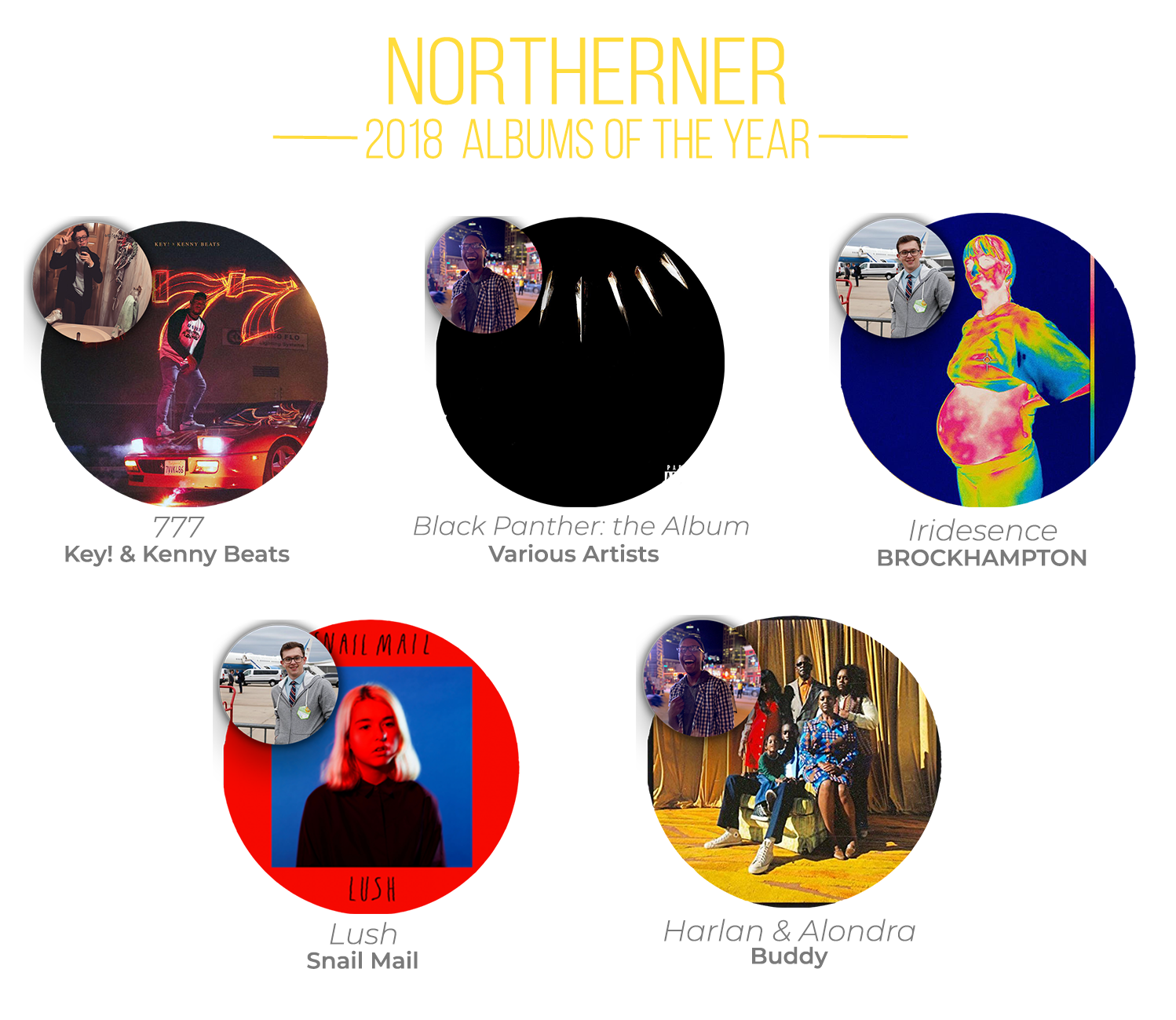 The Northerner   Editor's picks: Our favorite albums of 2018
