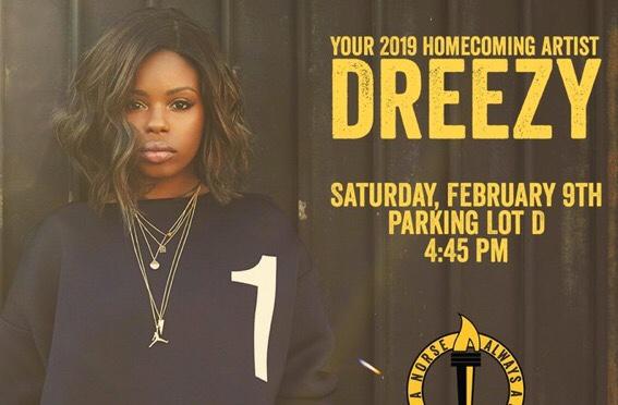 Dreezy to headline NKU Homecoming