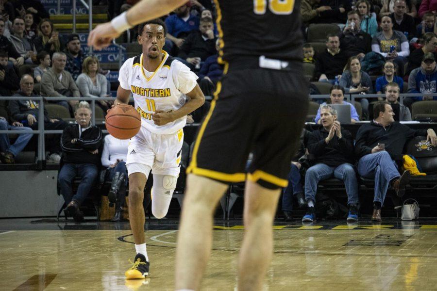 NKU men's basketball holds off Milwaukee 65-55