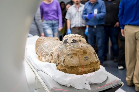 GALLERY: Ancient mummy analyzed at Health Innovation Center