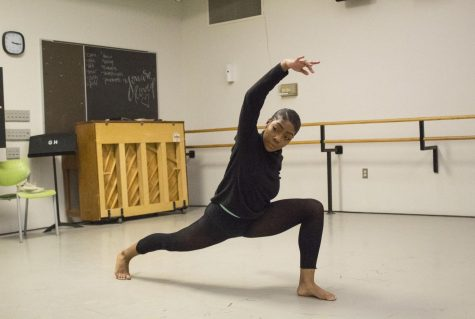 Dance major Lavette Patterson has practiced ballet since she was 3 years old.