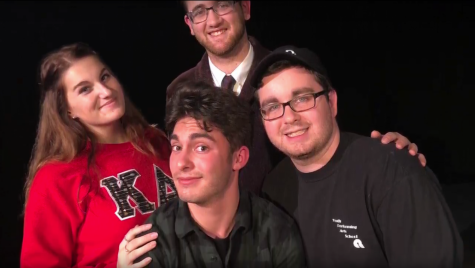VIDEO: Student comedian drafting show about when 'it' hits the fan