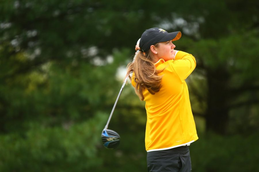Macy Wright started playing golf, competitively, in sixth grade.