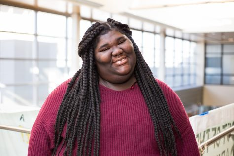 Shayla Delamar uses hard work, compassion and love to make her name known at NKU.