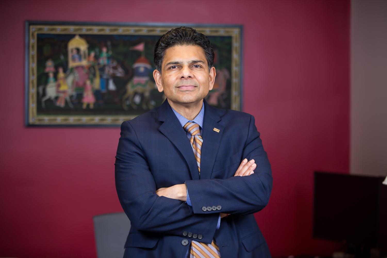 Dr. Ashish Vaidya is NKU's sixth president.
