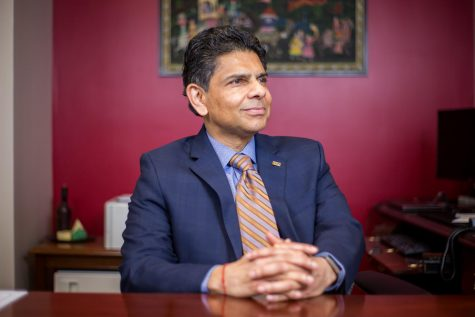 """We have, I think, ample opportunity to attract more diverse learners to NKU both from around the region, but also around the country, around the world.""—Dr. Ashish Vaidya, president of NKU"