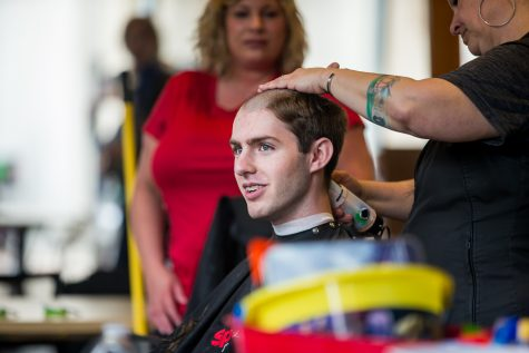 Wood said the goal was to raise $10,000 toward St. Baldrick's foundation. This was done by the brothers and others receiving donations.