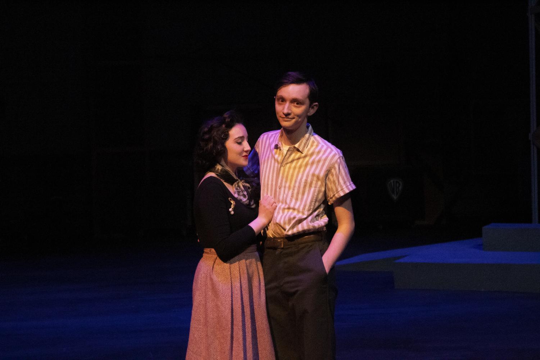 Rachel Kazee and Charles Adams in