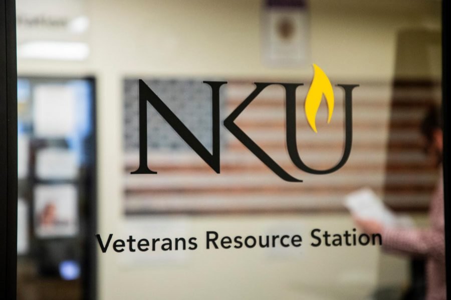 During freshman orientation, students with a military background in various capacities can join a breakout session specifically tailored to their needs.