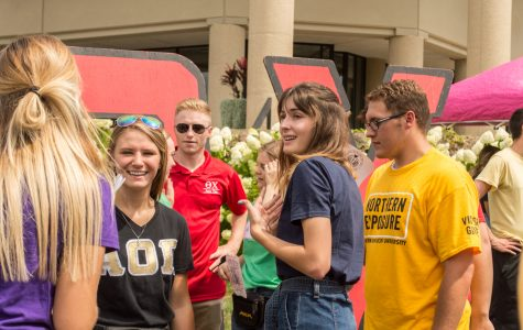 Greek life continues philanthropies, meetings and celebrations despite COVID-19