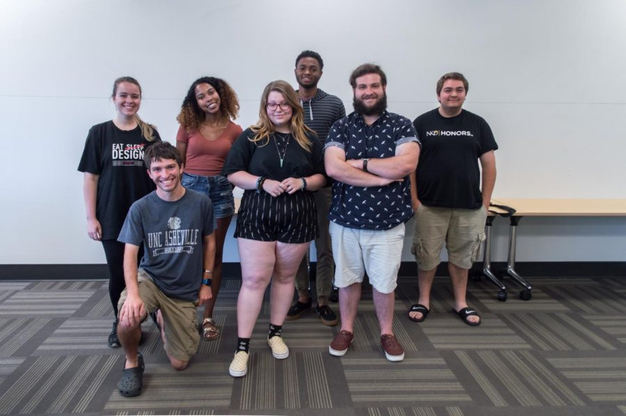 Members of the College Democrats Club