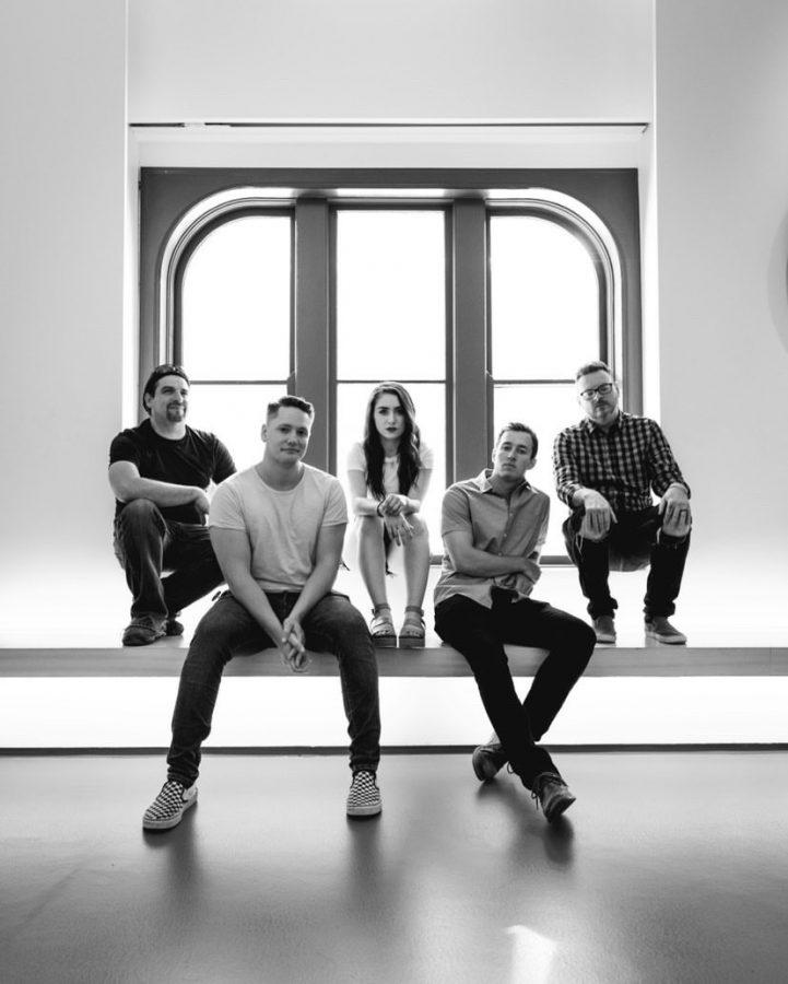 From left to right: Mike McNutt, John Trygier, Kali Marsh, Zack Sempsrott, Travis Hack