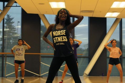 Ever since Sara Koné, senior chemistry major, was a young girl, she has always been passionate about dance.