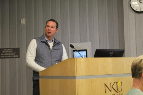 Adam Grant from Fairmount Properties spoke to SGA on Monday.