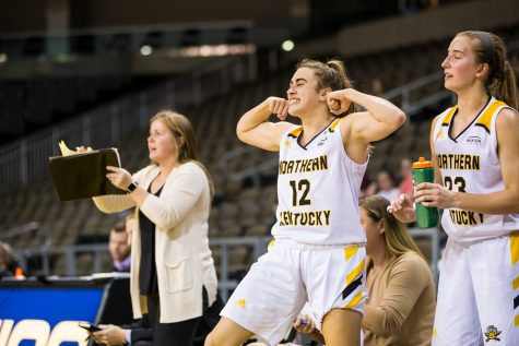 Women's basketball gained first home win against Omaha