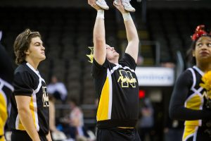'Refreshing,' the presence of male cheerleaders at NKU