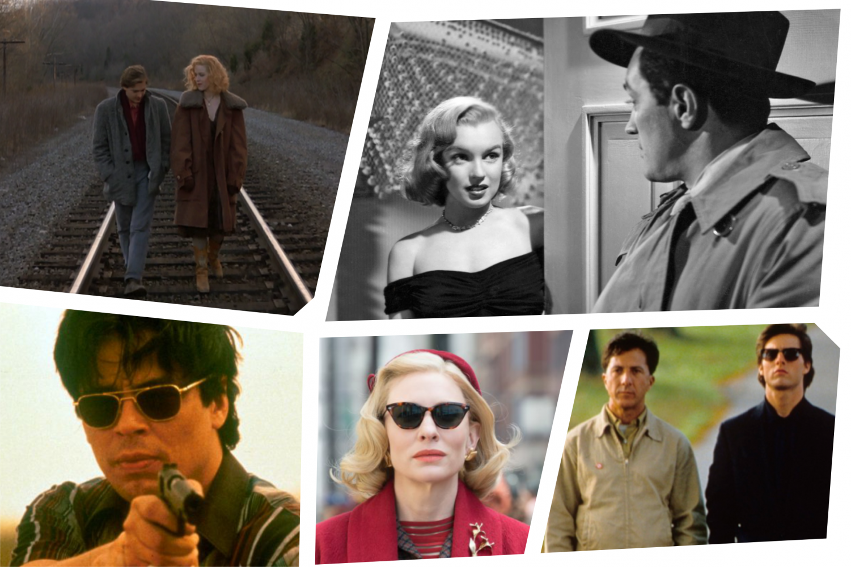 Screencaps from Fresh Horses, The Asphalt Jungle, Traffic, Carol and Rain Man