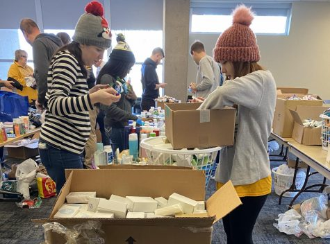 Students, faculty, staff volunteer for MLK Day of Service