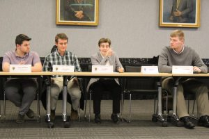 Library improvements, accreditation solutions discussed at SGA