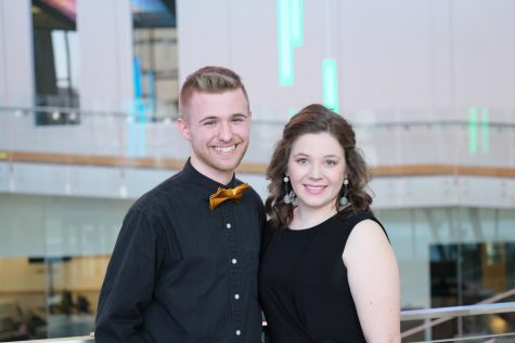 Pictured left to right, Zach Dichtl, vice president, and Katie Estes, president.