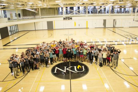 NKU's campus recreation center.