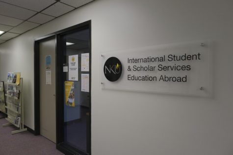 The International Student & Scholar Services Education Abroad office in University Center room 330.