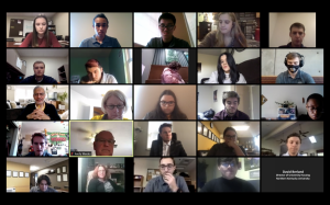 Approximately 35 people were in attendance at SGA's virtual meeting.
