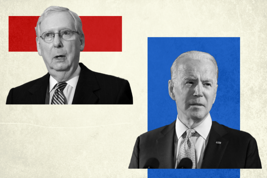 Senate+Majority+Leader+Mitch+McConnell+and+President-Elect+Joe+Biden.