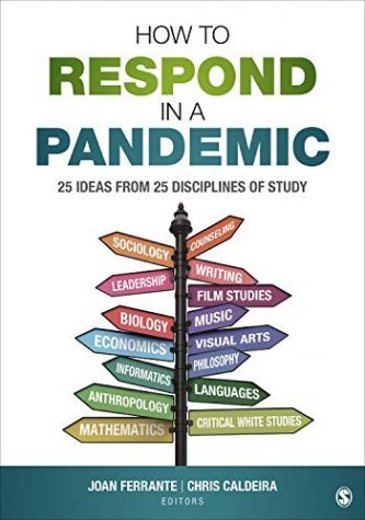"Book cover that says ""How to Respond in a Pandemic"""