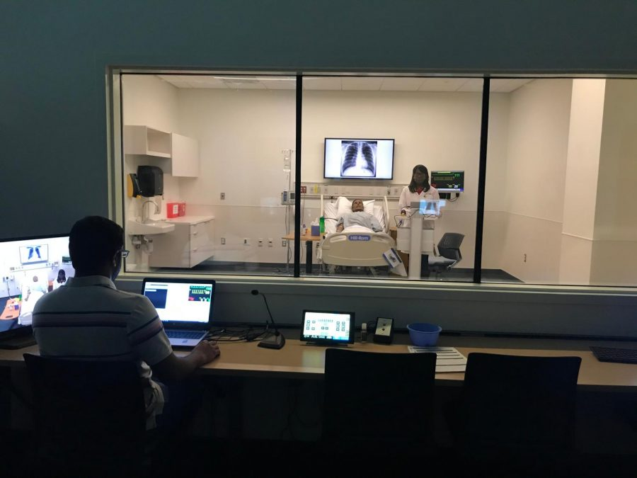NKU's Center for Simulation Education is housed in the Health Innovation Center (Provided by NKU).