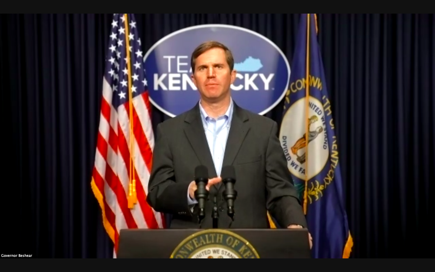 Governor Andy Beshear was a keynote speaker at Kentucky