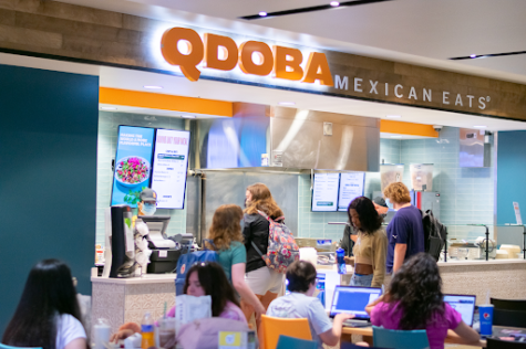 New for this year, students can get Mexican-style cuisine at QDOBA.