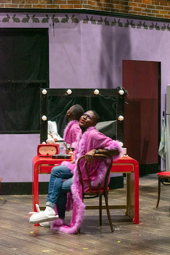 """Jayvon Shack portraying Arnold in """"Torch Song."""""""