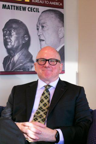 New NKU Provost Matt Cecil poses for a photo.