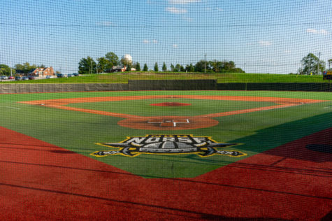 The Northern Kentucky Norse baseball field, located on campus at NKU.