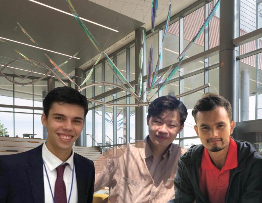 From Left to Right: Stefano Pecile, Ba Ta, Bikash Acharya